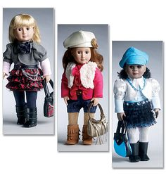"""McCall's 6480 18"""" (46cm) Doll Clothes #sewing #patterns  I promised myself not to buy any more doll clothes patterns.  BUT LOOK!! I see an exception coming :)"""