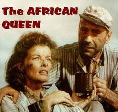 african queen movie and cast. Classic Disney Movies, Iconic Movies, Old Movies, Classic Movies, Vintage Movies, Bogart And Bacall, Humphrey Bogart, Queen Movie, Best Romantic Movies
