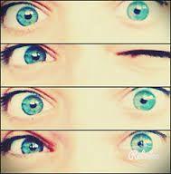 close up of my eyes. xxx