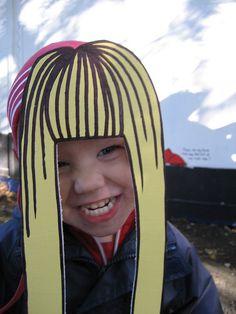 Photo props!  Goldilocks by Island 2000 Arts, via Flickr