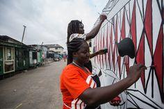 Art festival electrifies Ghana's streets - Al Jazeera English
