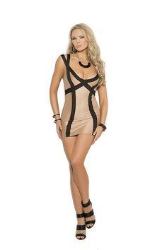 e4923fd427582 Lingerie Mini Dress
