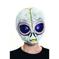 Alien Time Traveller Mask