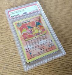 Shadowless Charizard Pokemon Card PSA 5 Excellent Base Set 4/102 RARE Charizard Pokemon, Pokemon Cards, Base