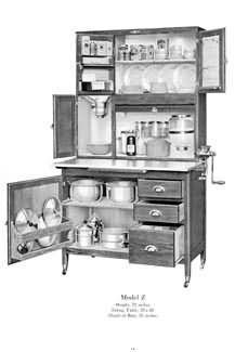 Kitchen Cabinets Catalog hoosier kitchen cabinets 1915 | vintage home | pinterest | them