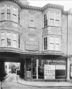 The Rendezvous Cafe, London Road. Bognor Regis, Old Images, British History, Brighton, Arch, The Past, England, Street View, London