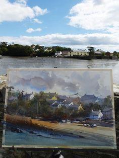 Keiko Tanabe Watercolor Paintings  Photo: Kinsale, Ireland, September 1, 2015