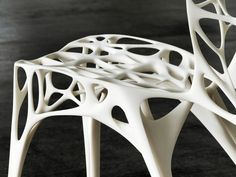 Parametrically designed 'Generico Chair' takes on your weight with half the volume