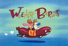 Bob Camp - Ren and Stimpy title cards.