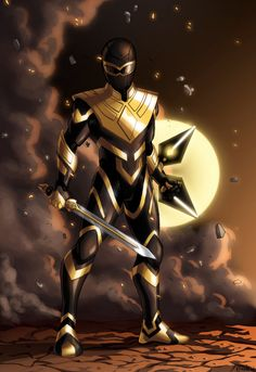 Commission for of his Gold Hawk Power Ranger. Like a cool cross between Green Ranger and Gold Zeo Ranger. Commission- The Golden Hawk Power Rangers Fan Art, Power Rangers Zeo, Pawer Rangers, Mighty Morphin Power Rangers, Power Rangers In Space, Power Ranger Black, Green Ranger, Black Power, Comic Character