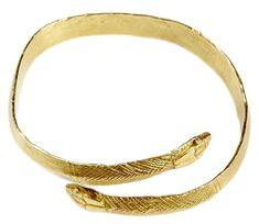 Snake Bracelet - This ancient Egyptian bracelet was a gift from President Kennedy to Mrs. Kennedy on the occasion of their tenth wedding anniversary.  John F. Kennedy Presidential Library & Museum