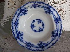 Antique Flow Blue  OXFORD