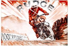 Amazing collection of Vintage Motorcycle Art Check BullitMcQueen's flickr here ...