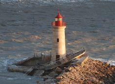 Lighthouses of the Balearic Islands:  Far d'Andratx in Port d'Andratx,   Spain