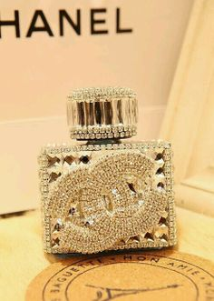 Chanel perfume bottle.