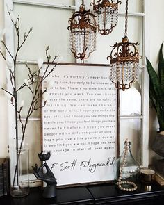 This sign is gorgeous and it is my absolute favorite piece we have made EVER. Its message is breath-taking, and its a large enough size to make a statement. The wood frame adds a great modern rustic vibe to any room. *THIS QUOTE IS ADAPTED FROM THE BENJAMIN BUTTON SCREENPLAY BY ERIC