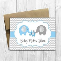 Your place to buy and sell all things handmade Baby Shower Cards Handmade, Baby Shower Gift Bags, Handmade Cards, Baby Shower Congratulations, Cowboy Baby Shower, Baby Makes, Elephant Baby, Card Sizes, Your Cards