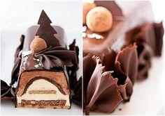 Chocolate Chesnut Yule Log