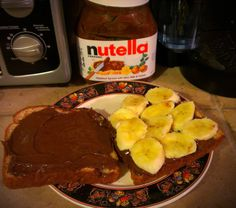 Nutella, banana, marshmallow grilled cheese