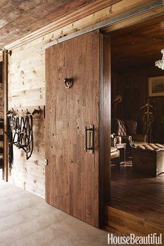 Tack Room: Door