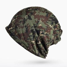 COKK Turban Hat Camouflage Beanie Stocking Hats For Women Men Baggy Cap Hip Hop Hat Female Skullies Beanies Scarf Mask Bonnet Mens Knitted Scarf, Knitted Hats, Winter Hats For Men, Hats For Women, Hat For Man, Hat Men, Army Camouflage, Hip Hop Hat, Military Army