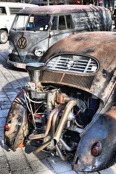 VW Rat Rod Pipes