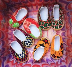 baby shoes by MisWudé from Senegal African fashion