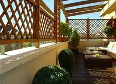Terraza atico Door Gate Design, Relaxing Colors, Outdoor Living, Outdoor Decor, Outdoor Ideas, Rooftop Deck, Terrace Design, Garden Furniture, Diy Furniture