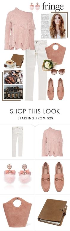 """""""08.11.2017"""" by desdeportugal ❤ liked on Polyvore featuring Yves Saint Laurent, Philosophy di Lorenzo Serafini, Ranjana Khan, Elizabeth and James, Mulberry, Muji and Cutler and Gross"""