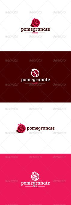Pomegranate Logo #graphicriver