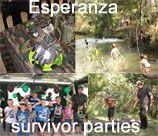 Esperanza Army Parties - Pretoria East provides a fantastic obstacle course in the bush. With mud slide, foofy slide, tyres, ropes, balance obstacles and lots more. To add to the fun, we hide the party packs in the bush for the kids to find (optional). There is also Quad Biking with helmets available.