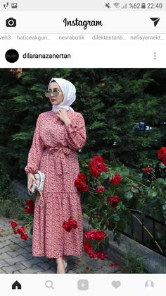 Hijab Dresses for Young Women Modern Hijab Fashion, Muslim Fashion, Modest Fashion, Fashion Dresses, Hijab Outfit, Modest Dresses, Modest Outfits, Mode Abaya, Modele Hijab