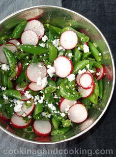 Sugar Snap Peas and Radish Salad Recipe