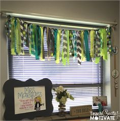 My Classroom Reveal! - Teach Create Motivate - My Classroom Reveal! Jungle Theme Classroom, Classroom Layout, Classroom Design, Classroom Themes, Classroom Organization, Classroom Window Decorations, Classroom Posters, Classroom Management, Behavior Management