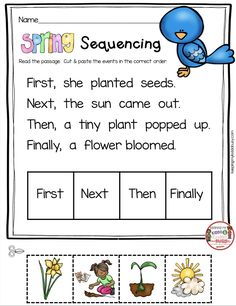 May in Kindergarten – FREEBIES — Keeping My Kiddo Busy SEQUENCING – kindergarten FREEBIES – worksheets for reading comprehension and activities for end of the school year in kindergarten – FREE printables and worksheets – math and reading centers Kindergarten Math Worksheets, Kindergarten Lessons, Kindergarten Writing, Kindergarten Classroom, Classroom Teacher, Math Lessons, Reading Comprehension Activities, Sequencing Activities, Story Sequencing Worksheets