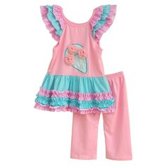 Giggle Moon Girls Pink Summer Clothes Ruffle Ice Cream Top Cotton Pants Cheap Price Children Remake Spring Outfits S092  #spring #summer #outfit #cute #bows #babybear #momprenuer #instagrambabies #gold #entrepenuer #swing #igbabies #babieswithstyle #dress #womeninbusiness #spring #summer #outfit #cute #bows #babybear #momprenuer #instagrambabies #gold #entrepenuer #swing #igbabies #babieswithstyle #dress #womeninbusiness