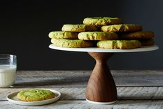 Found these stunning cookies made using our Green Pea Flour on @Food52. Unusual to say the least.