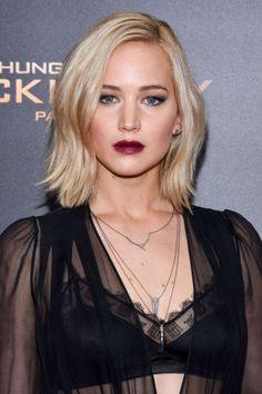 Jennifer Lawrence's beauty evolution: 2015.