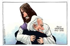 """Earh's troubles fade in the light of heaven's hope."""" -Billy Graham"""
