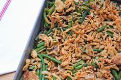Green Bean Casserole with Morel Mushrooms
