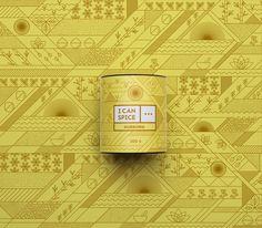 Hunagarian DekoRatio Design Studio and designer Szani Mészáros designed the packaging and branding for I Can Spice
