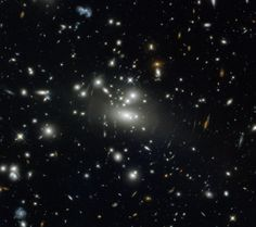 May 13, 2013   Galaxy cluster Abell S1077 as seen by NASA/ESA Hubble Space Telescope.........read more so interesting!