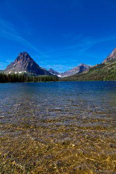 Two Medicine Lake, Glacier National Park by John Harwood, via 500px; Montana
