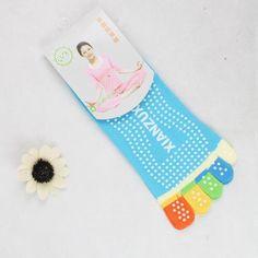 Five Fingers Professional Yoga Socks