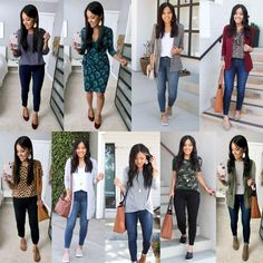 5 Dressy Casual Fall Looks - Putting Me Together Dressy Casual Fall, Everyday Casual Outfits, Casual Work Outfits, Business Casual Outfits, Simple Outfits, Outfits Otoño, Spring Outfits, Selfies, Toms Style
