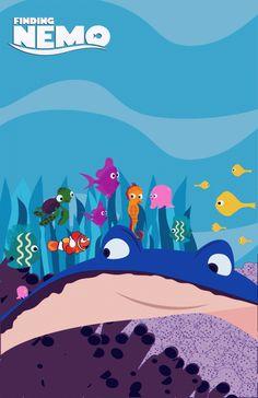 Finding Nemo Alternative Movie Posters (3)