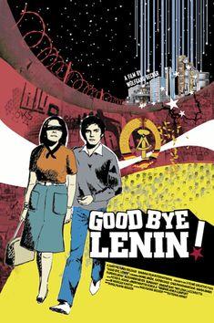 Good Bye Lenin! (2003) - poster design by ~JDLR on deviantART