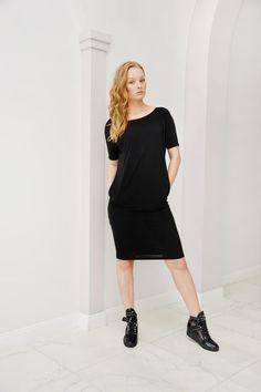 "Sukienka ""Czarny charakter"" - MAISS-odziez - Sukienki koktajlowe"