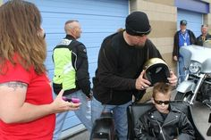 2012 Bikers For Babies Ride: Mingle Photo Galleries Johnny and Tucker.