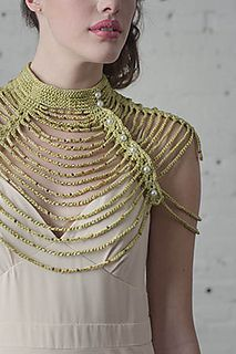 Ravelry: Waterfall Necklace pattern by Jessie Rayot